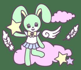 Rabbit's puppet theater sticker #9129155