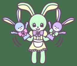 Rabbit's puppet theater sticker #9129157