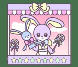 Rabbit's puppet theater sticker #9129158