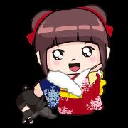 สติ๊กเกอร์ไลน์ Sakura & Luca (Part II)