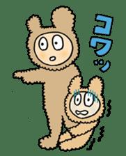 HOBONICHI KONETA GEKIJYO sticker #9132032