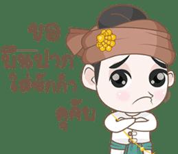 Ruler of Thai LANNA sticker #9133851