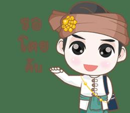 Ruler of Thai LANNA sticker #9133858