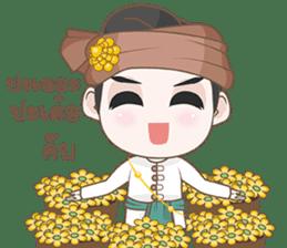 Ruler of Thai LANNA sticker #9133878