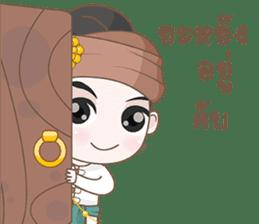 Ruler of Thai LANNA sticker #9133879