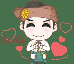 Ruler of Thai LANNA sticker #9133880