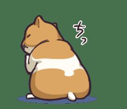 Fat hamster...2 sticker #9135786