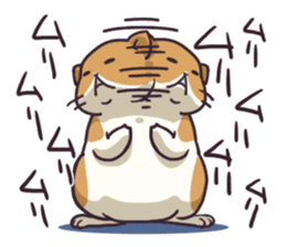 Fat hamster...2 sticker #9135790