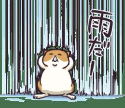 Fat hamster...2 sticker #9135800