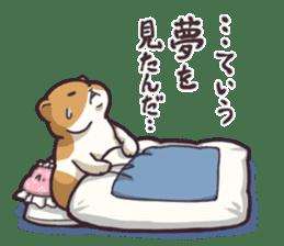 Fat hamster...2 sticker #9135805