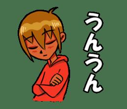 Genki boy AKIRA sticker #9137408