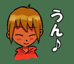 Genki boy AKIRA sticker #9137409