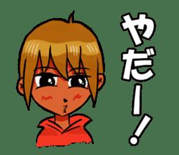 Genki boy AKIRA sticker #9137411