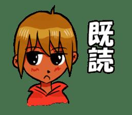 Genki boy AKIRA sticker #9137413