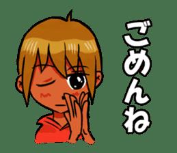 Genki boy AKIRA sticker #9137414