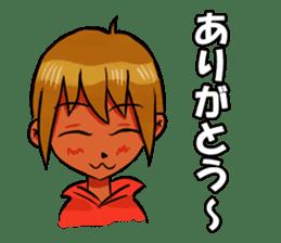Genki boy AKIRA sticker #9137415