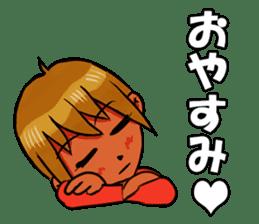 Genki boy AKIRA sticker #9137417