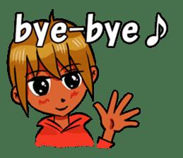 Genki boy AKIRA sticker #9137418