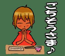 Genki boy AKIRA sticker #9137421