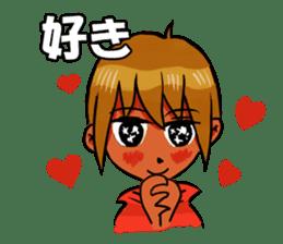 Genki boy AKIRA sticker #9137424