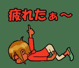 Genki boy AKIRA sticker #9137427