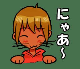Genki boy AKIRA sticker #9137432
