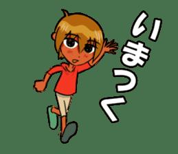 Genki boy AKIRA sticker #9137439