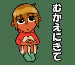 Genki boy AKIRA sticker #9137440
