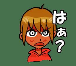 Genki boy AKIRA sticker #9137441