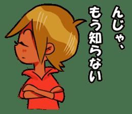 Genki boy AKIRA sticker #9137442