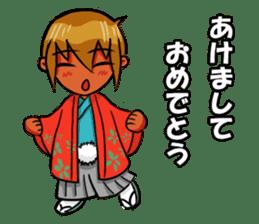 Genki boy AKIRA sticker #9137445