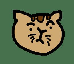 Cute ugly zoo sticker #9138526