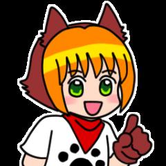 Puppy girl Kokoro-chan