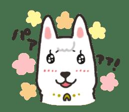 """Ladylike dog girl """"Namikoro2"""" sticker #9148392"""