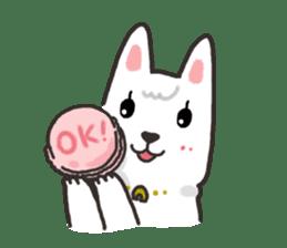 """Ladylike dog girl """"Namikoro2"""" sticker #9148395"""