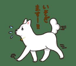 """Ladylike dog girl """"Namikoro2"""" sticker #9148397"""
