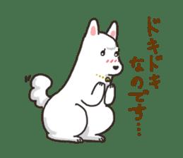 """Ladylike dog girl """"Namikoro2"""" sticker #9148398"""