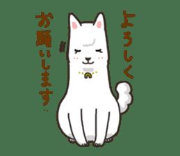 """Ladylike dog girl """"Namikoro2"""" sticker #9148399"""