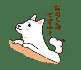 """Ladylike dog girl """"Namikoro2"""" sticker #9148400"""