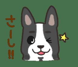 """Ladylike dog girl """"Namikoro2"""" sticker #9148405"""