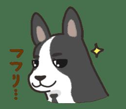 """Ladylike dog girl """"Namikoro2"""" sticker #9148406"""