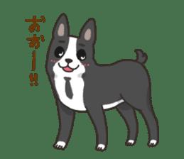 """Ladylike dog girl """"Namikoro2"""" sticker #9148409"""