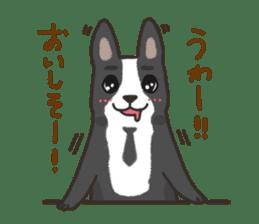 """Ladylike dog girl """"Namikoro2"""" sticker #9148410"""