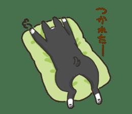 """Ladylike dog girl """"Namikoro2"""" sticker #9148411"""