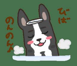 """Ladylike dog girl """"Namikoro2"""" sticker #9148412"""
