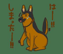 """Ladylike dog girl """"Namikoro2"""" sticker #9148417"""