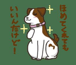 """Ladylike dog girl """"Namikoro2"""" sticker #9148424"""