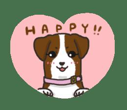 """Ladylike dog girl """"Namikoro2"""" sticker #9148425"""