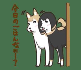 """Ladylike dog girl """"Namikoro2"""" sticker #9148428"""