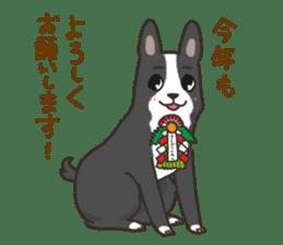 """Ladylike dog girl """"Namikoro2"""" sticker #9148431"""